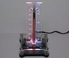 Nixie tube thermometer, not a clock, but still cool