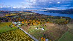 Kueka Lake (Finger Lakes, New York) - http://bestdronestobuy.com/kueka-lake-finger-lakes-new-york/