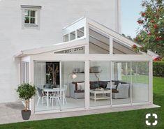 super Ideas for house big garden dreams Pergola Ideas Backyard Pergola, Pergola Kits, Pergola Swing, Pergola Designs, Patio Design, Garden Design, Outdoor Rooms, Outdoor Living, Enclosed Patio