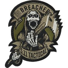 5.11 Tactical - Breacher Patch @511tacticalgear