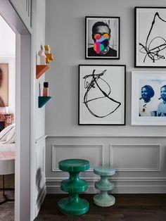Art House Woollahra Sydney By Studio Cd Design Yellowtrace 12 Australian Interior Design, Home Interior Design, Interior And Exterior, Design Interiors, Cd Design, Design Studio, Studio Studio, Art Cd, Hallway Art