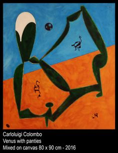 Art,Venus, Panties, Riolo Terme, paintings, Esorinism, Faenza, Italy
