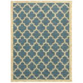 Found it at Wayfair - Mirabella Milazzo Blue Rug