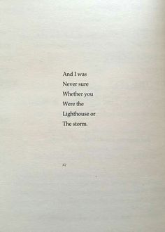 And I was | Never su