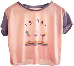 Coco Go Nuts / Wild Friday Cropped Tee > http://on.fb.me/Q1CKv3