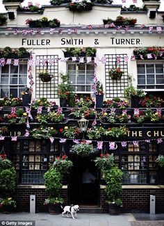 Churchill Arms in London's Kensington Church Street.