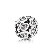 PANDORA | Love all around, clear cz