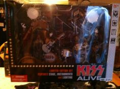 Kiss Alive! Mcfarlane Action Figure Stage Set