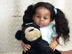 AA / Ethnic Biracial Reborn Toddler For Sale - Taylor Life Like Baby Dolls, Life Like Babies, Real Baby Dolls, Black Baby Dolls, Black Babies, Reborn Toddlers For Sale, Reborn Dolls For Sale, Reborn Toddler Girl, Reborn Baby Dolls