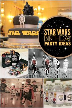 Iconic and Cool Star Wars Boy's 6th Birthday Party - Spaceships and Laser Beams