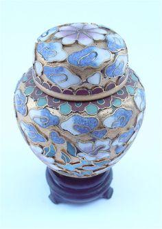 Vintage Cloisonne Chinese Jar