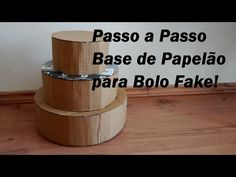 Repeat youtube Passo a Passo Base de Papelão Para Bolo Fake /Por Carla Oliveira on Repeatube.com