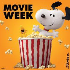 Snoopy : It's movie week!