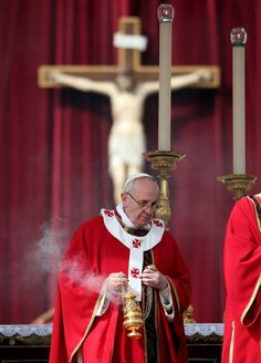 Two Beautiful Things, Pope Francis & Incense. - the best part of going to Rome!