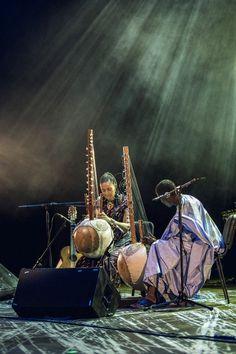 Sona Jobarteh - concert in Polski Theatre | Brave Festival 2015 Griot, phot. Mateusz Bral
