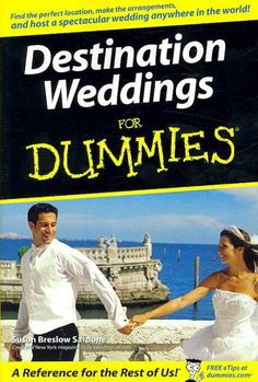 Want to have a wonderful wedding away from home? Destination Weddings For Dummies is your all-in-one guide to getting married out of town, giving you savvy tips on everything from making travel arrang