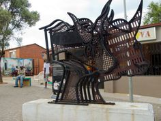 Tutu and Madiba - the two bulls of Vilikazi stree Feature Article, Historical Sites, Tutu, South Africa, Westerns, Two By Two, Artist, Travel, Viajes