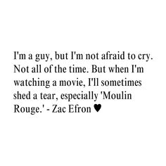 Zac Efron Quote ♥ ❤ liked on Polyvore