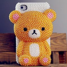 um, yes...i want a cell phone case that makes me look like an exceptionally spoiled toddler, and that won't fit in my pocket or any purse.  and that the jewels will fall off after two days' use.