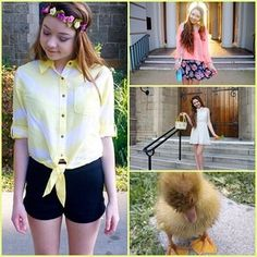 Outfits for Easter. Too cute!!