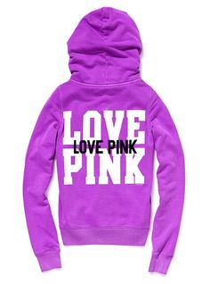 Love hoodies and the pink line!
