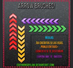 Useful Free Arrow Brushes for Photoshop | Free and Useful Online Resources for Designers and Developers