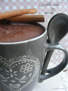 Heiße Schokolade mit Zimt ( in Pulverform)