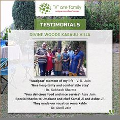 Thanks alot V. K. Jain, Dr. Subhash Sharma, Ajay Jain and Dr. Sunil Jain for sharing such a wonderful comments. We look forward to meeting you again. Enquire Now: Call +91-9810074777 or visit: www.varefamily.com  #Happycustomer #Customerreview #VarefamilyReviews #Varefamily