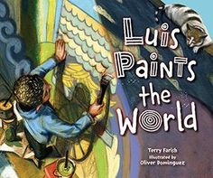click image to read or download books Luis Paints the World