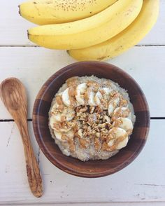 #TGIF! What better way to kick off the weekend than with a bowl of #BananaBread…