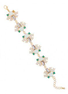 Calyx Jewel Bracelet in Mint