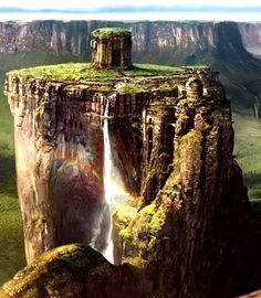 Find images and videos about venezuela, parque nacional canaima and en venezuela : on We Heart It - the app to get lost in what you love. Nature Landscape, Fantasy Landscape, Environment Concept, Environment Design, Fantasy Places, Fantasy World, Beautiful World, Beautiful Places, Matte Painting