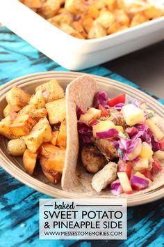 Sweet Potatoes and Pineapple Side