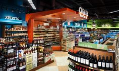 Supermarket Design | Retail Design | Beers, Wines & Spirits | Supermarket ABC Fine Wine Spirits shop by api plus Ocala Florida