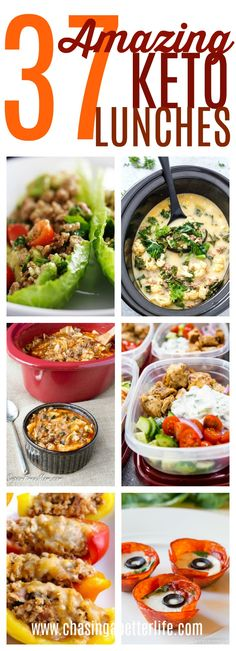 37 amazing keto lunches #keto #lunches