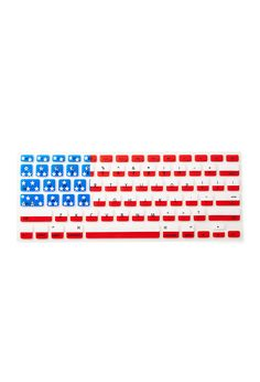 American Flag Keyboard Cover | FOREVER21. NEED NEED NEED. It would match my cover perfectly!!!