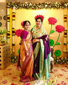 Indian Bridal Fashion, Indian Wedding Jewelry, Bridal Jewellery, Half Saree Function, Kids Ethnic Wear, Kids Party Wear, Desi Wedding Decor, Bride Sister, Saree Blouse Patterns