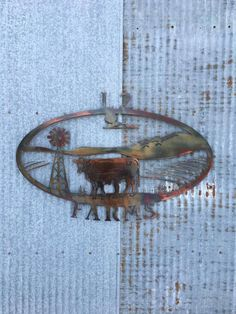 Farms Signs, Personalized Farm signs, Custom Farm signs, Ranch signs, Entrance Signs, Unique Signs, Farm, Windmill, Cow, Cattle by LagIndustries on Etsy