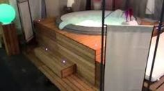 1000 ideas about jacuzzi gonflable on pinterest jacuzzi and pergolas for Bruit spa gonflable