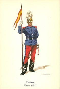 MINIATURAS MILITARES POR ALFONS CÀNOVAS Military Uniforms, Napoleonic Wars, Armies, Spanish, Empire, Fictional Characters, War, Soldiers, Military Art