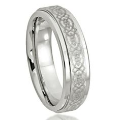 6MM Cobalt Men/Women Wedding Ring Band High Polished Stepped Edge Laser Engraved Celtic Design Ring Size-6 Gold Valley Jewelry,http://www.amazon.com/dp/B00H2AL55U/ref=cm_sw_r_pi_dp_ntWltb0AZZR0F7QR
