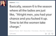 """27 Tumblr Posts About """"Game Of Thrones"""" Season 6 That Will Make You Laugh"""