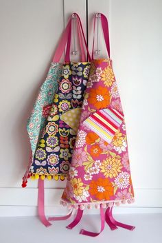 Sewing: Child's Reversible Fat Quarter Apron (Tutorial and Pattern) | Aesthetic Nest | Bloglovin'