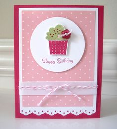 This is for my daughter whose birthday is today so I can finally post this card. I CASE'd it from this card with a few changes of my own. ...