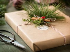 Reduce waste and save money with these easy eco-friendly gift wrap alternatives.