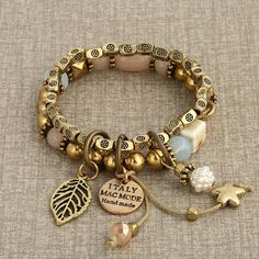 bohemian charm bracelet - perfect for everyday use – Rebel Style Shop