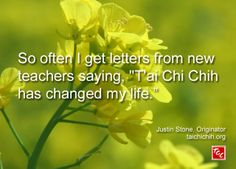 Quote by Justin Stone, Originator of the moving meditation T'ai Chi Chih: Find more info at www.taichichih.org Justin Stone, Zen Master, Hapkido, Teacher Quotes, New Teachers, True Nature, Chinese Medicine, Change My Life, Taekwondo