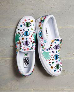 Shoes by 2018 Vans Custom Culture ambassador, Martha Porter.