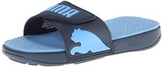 PUMA Men's Curitiba Sandal,Dark Denim/Little Boy Blue,4 M US * Read more reviews of the product by visiting the link on the image.