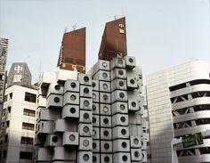 FailedArchitecture.com - Nakagin Capsule Tower, Tokio - ruïne met onweerstaanbare aantrekkingskracht uit de hoogtijdagen van het Japanse metabolisme